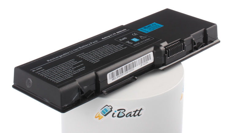 Аккумуляторная батарея XU863 для ноутбуков Dell. Артикул iB-A244.Емкость (mAh): 6600. Напряжение (V): 11,1