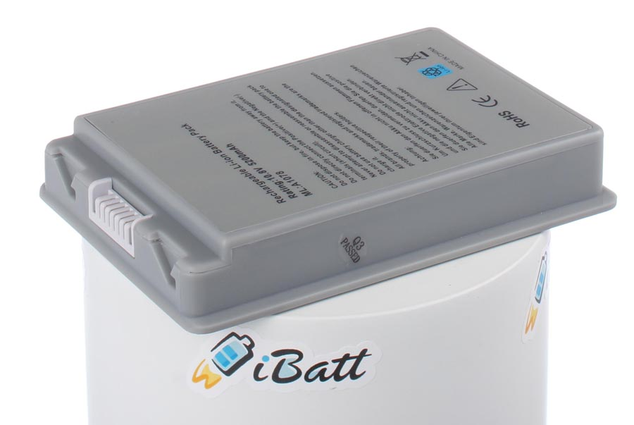 Аккумуляторная батарея E68043 для ноутбуков Apple. Артикул iB-A428H.Емкость (mAh): 5200. Напряжение (V): 10,8