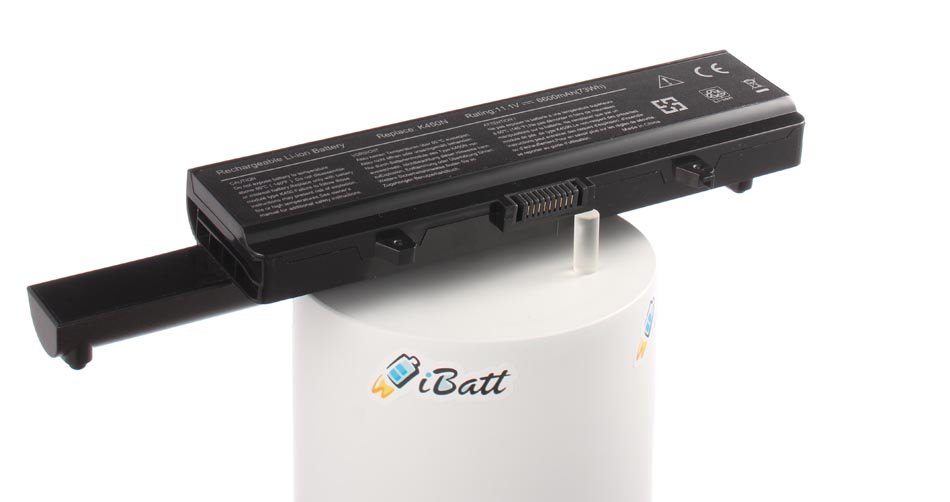 Аккумуляторная батарея CRT6P для ноутбуков Dell. Артикул iB-A723.Емкость (mAh): 6600. Напряжение (V): 11,1