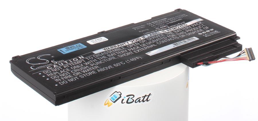 Аккумуляторная батарея iBatt iB-A859 для ноутбука SamsungЕмкость (mAh): 5900. Напряжение (V): 11,1