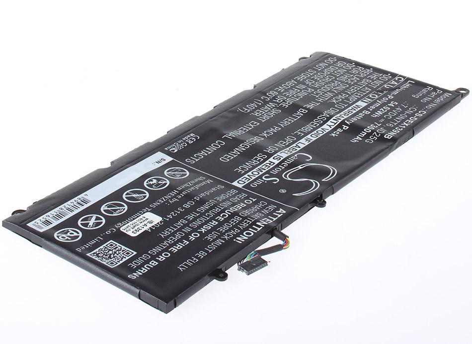 Аккумуляторная батарея 0N7T6 для ноутбуков Dell. Артикул iB-A1393.Емкость (mAh): 7300. Напряжение (V): 7,4