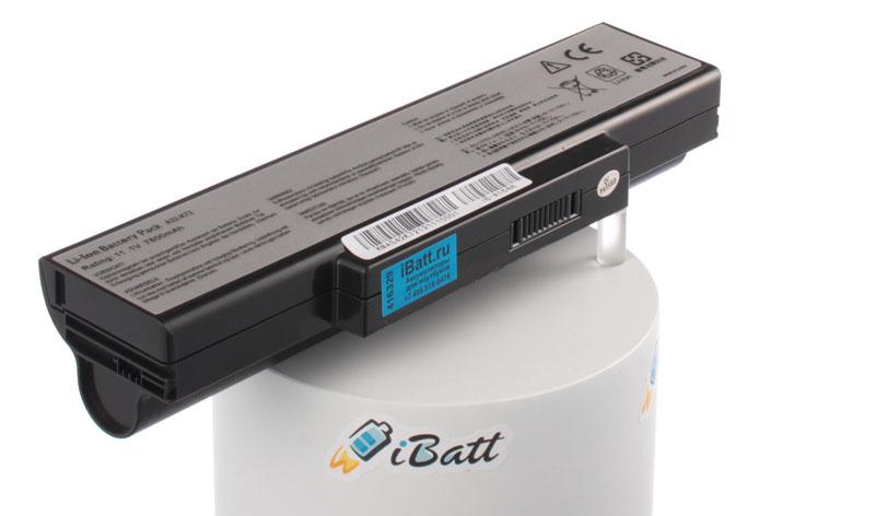 Аккумуляторная батарея для ноутбука Asus N71Jv. Артикул iB-A164H.Емкость (mAh): 7800. Напряжение (V): 11,1