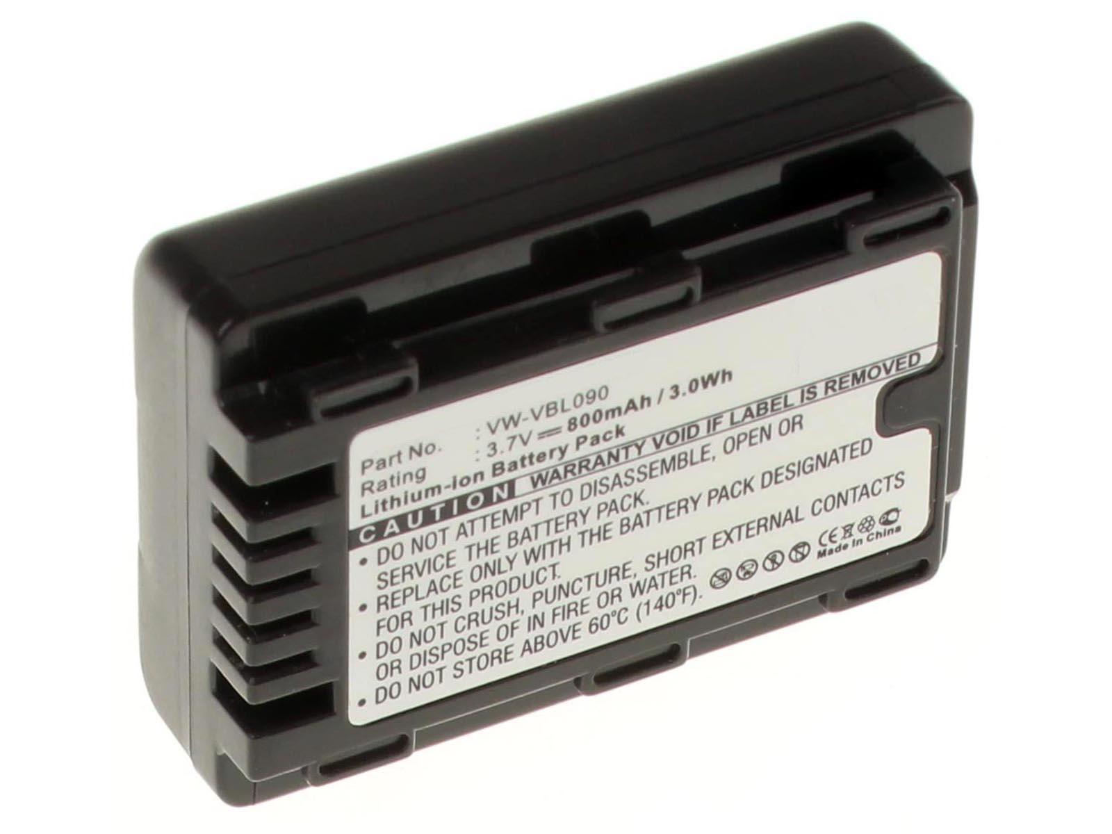 Аккумуляторные батареи для фотоаппаратов и видеокамер Panasonic HC-V10Емкость (mAh): 800. Напряжение (V): 3,7