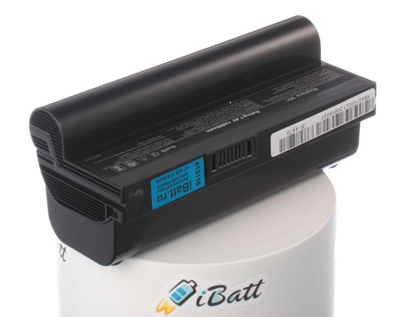 Аккумуляторная батарея для ноутбука Asus Eee PC 1000HG. Артикул iB-A479.Емкость (mAh): 12000. Напряжение (V): 7,4