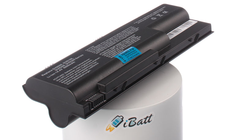 Аккумуляторная батарея для ноутбука HP-Compaq Pavilion dv8040US. Артикул iB-A198.Емкость (mAh): 6600. Напряжение (V): 14,4