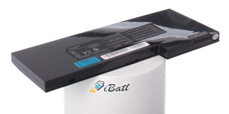Аккумуляторная батарея для ноутбука Asus UX50V. Артикул iB-A130.Емкость (mAh): 2800. Напряжение (V): 14,8