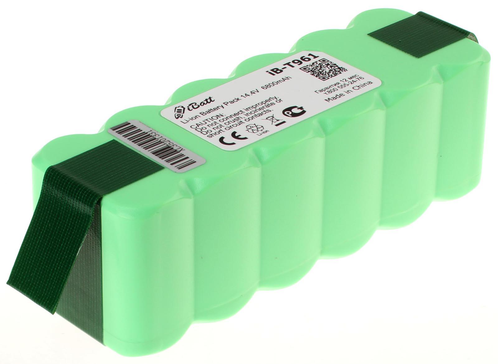 Купить аккумулятор (батарею) для пылесоса iRobot Roomba 650. Артикул iB-T961