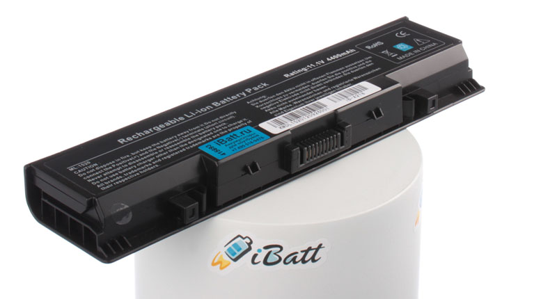 Аккумуляторная батарея для ноутбука Dell Vostro 1521. Артикул iB-A218.Емкость (mAh): 4400. Напряжение (V): 11,1