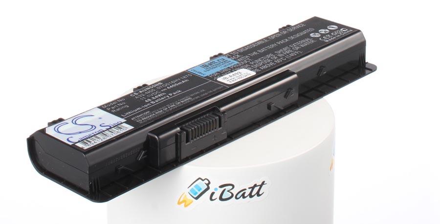 Аккумуляторная батарея iBatt iB-A492 для ноутбука AsusЕмкость (mAh): 4400. Напряжение (V): 10,8