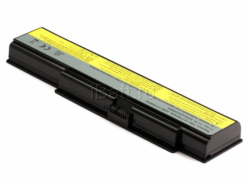 Аккумуляторная батарея CL7351B.806 для ноутбуков IBM-Lenovo. Артикул 11-1371.Емкость (mAh): 4400. Напряжение (V): 11,1