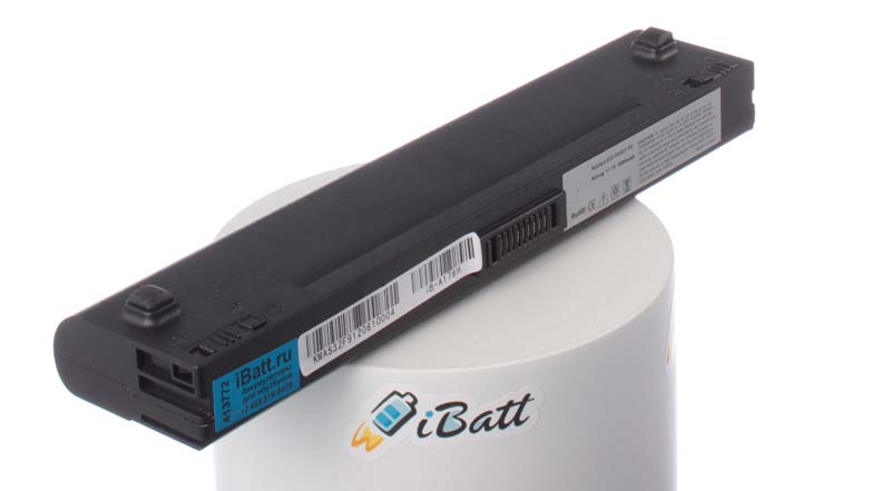 Аккумуляторная батарея для ноутбука Asus F6V-3P148CS. Артикул iB-A178H.Емкость (mAh): 5200. Напряжение (V): 11,1