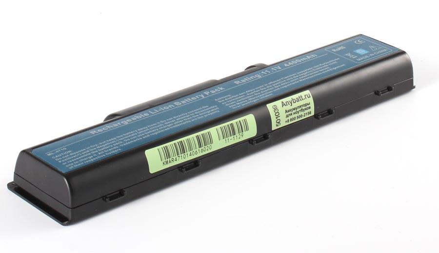 Аккумуляторная батарея AS07A56 для ноутбуков Acer. Артикул 11-1129.Емкость (mAh): 4400. Напряжение (V): 11,1