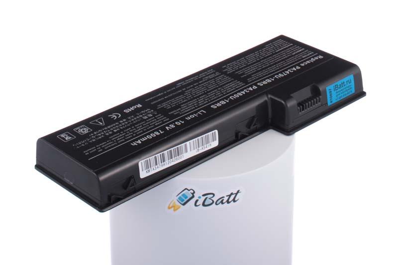 Аккумуляторная батарея iBatt iB-A541H для ноутбука ToshibaЕмкость (mAh): 7800. Напряжение (V): 10,8