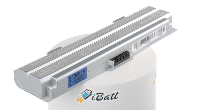 Аккумуляторная батарея для ноутбука Sony VAIO PCG-TR5MP. Артикул iB-A538.Емкость (mAh): 4400. Напряжение (V): 11,1