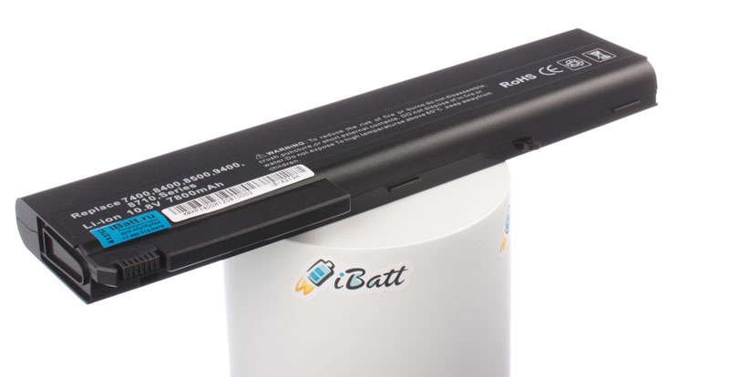 Аккумуляторная батарея 417528-001 для ноутбуков HP-Compaq. Артикул iB-A319H.Емкость (mAh): 7800. Напряжение (V): 10,8