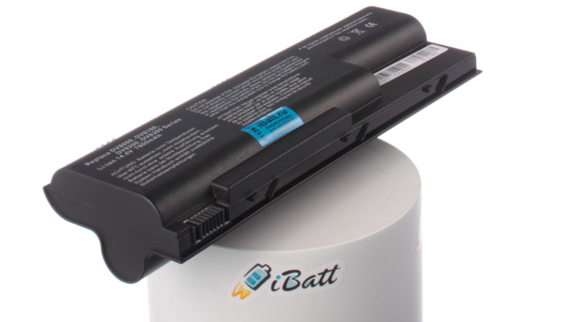 Аккумуляторная батарея 396008-001 для ноутбуков HP-Compaq. Артикул iB-A198H.Емкость (mAh): 7800. Напряжение (V): 14,4