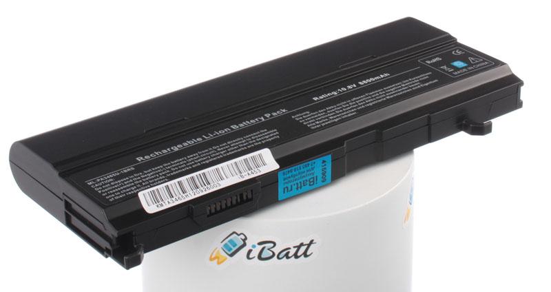Аккумуляторная батарея PA3465U-1BAS для ноутбуков Toshiba. Артикул iB-A453.Емкость (mAh): 8800. Напряжение (V): 10,8