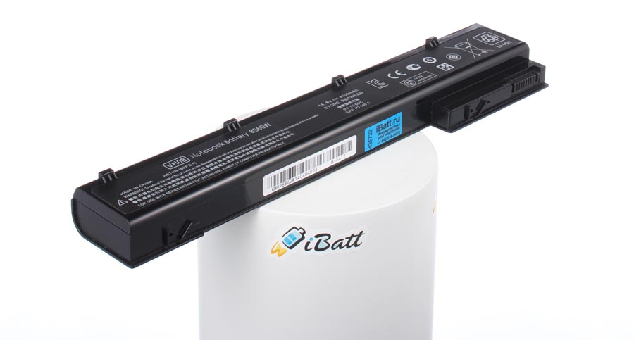 Аккумуляторная батарея QK641AA для ноутбуков HP-Compaq. Артикул iB-A612.Емкость (mAh): 4400. Напряжение (V): 14,8
