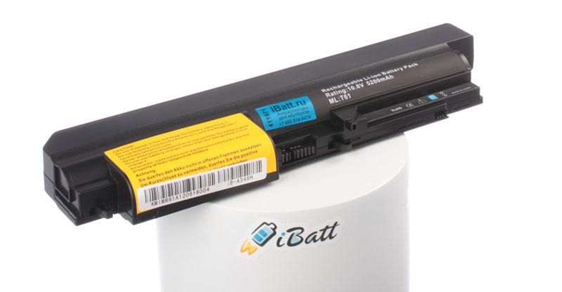 Аккумуляторная батарея 42T5228 для ноутбуков IBM-Lenovo. Артикул iB-A346H.Емкость (mAh): 5200. Напряжение (V): 11,1