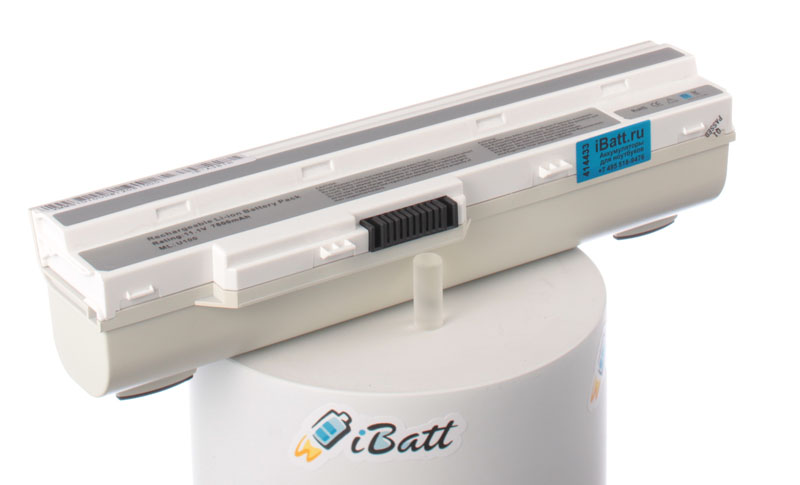 Аккумуляторная батарея CS-MSU100DT для ноутбуков MSI. Артикул iB-A381H.Емкость (mAh): 7800. Напряжение (V): 11,1