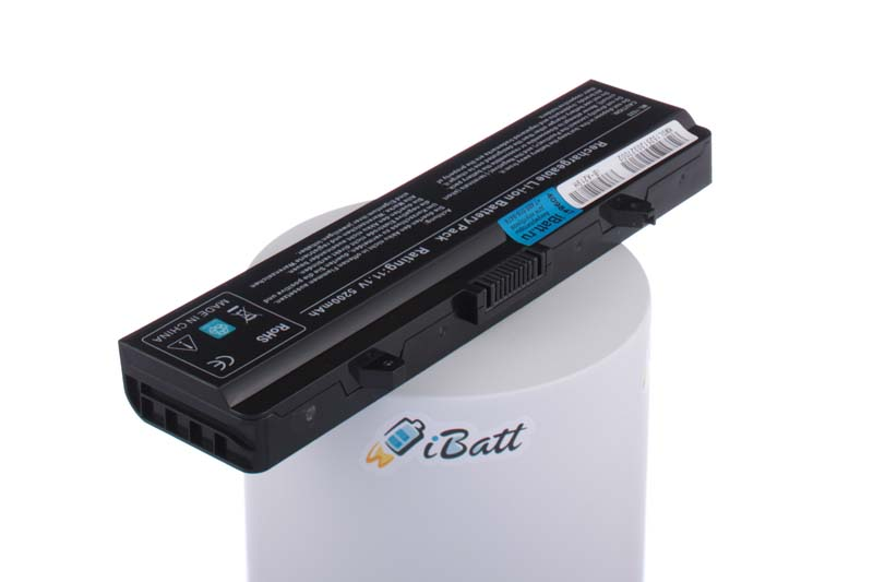 Аккумуляторная батарея RU573 для ноутбуков Dell. Артикул iB-A219H.Емкость (mAh): 5200. Напряжение (V): 11,1