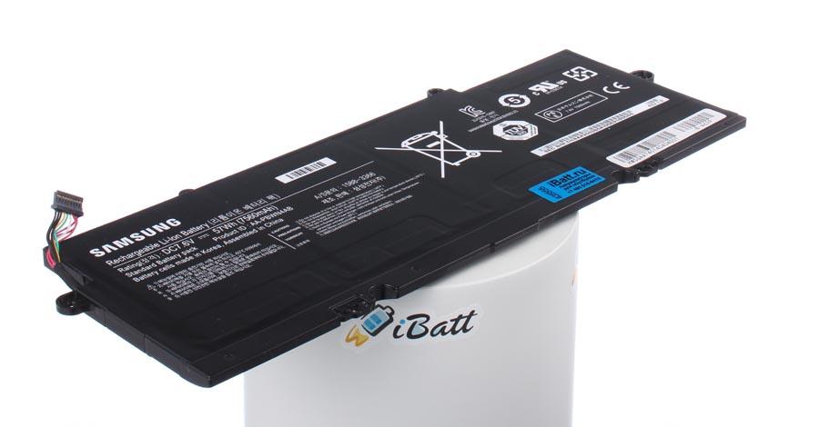 Аккумуляторная батарея для ноутбука Samsung ATIV Book 5 530U4E. Артикул iB-A629.Емкость (mAh): 7560. Напряжение (V): 7,6