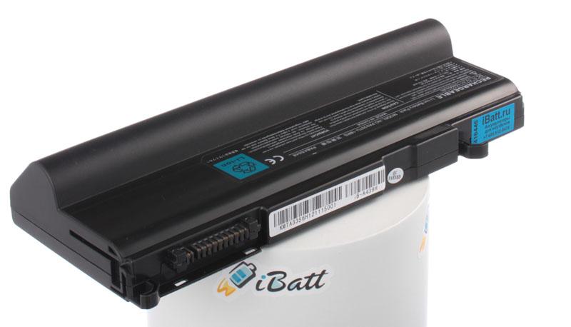 Аккумуляторная батарея PA3356U-1BAS для ноутбуков Toshiba. Артикул iB-A439H.Емкость (mAh): 10400. Напряжение (V): 11,1