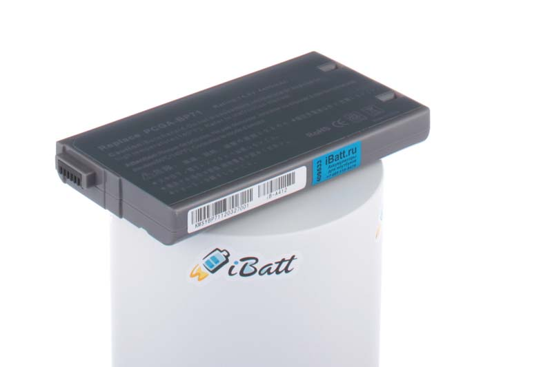 Аккумуляторная батарея для ноутбука Sony VAIO PCG-XR1E BP. Артикул iB-A412.Емкость (mAh): 4400. Напряжение (V): 14,8