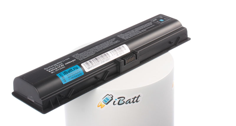 Аккумуляторная батарея для ноутбука HP-Compaq Pavilion dv6143TX. Артикул iB-A315.Емкость (mAh): 4400. Напряжение (V): 10,8