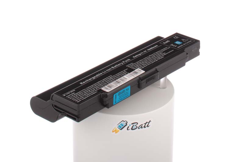 Аккумуляторная батарея VGP-BPS9A/B для ноутбуков Sony. Артикул iB-A577H.Емкость (mAh): 10400. Напряжение (V): 11,1