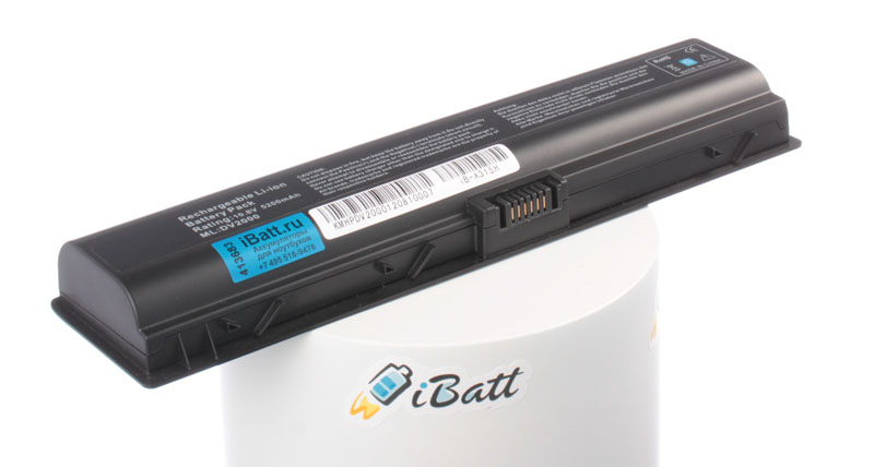 Аккумуляторная батарея для ноутбука HP-Compaq Pavilion dv2705/CT. Артикул iB-A315H.Емкость (mAh): 5200. Напряжение (V): 10,8