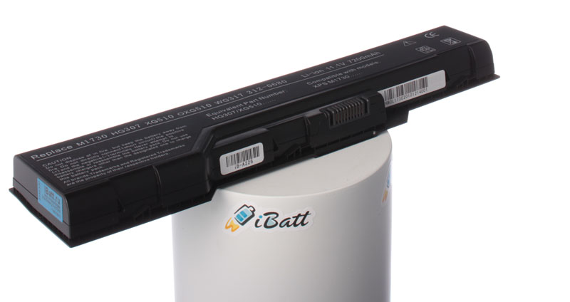 Аккумуляторная батарея XG496 для ноутбуков Dell. Артикул iB-A226.Емкость (mAh): 6600. Напряжение (V): 11,1