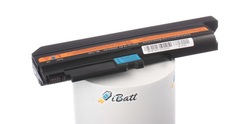 Аккумуляторная батарея iBatt iB-A344 для ноутбука IBM-LenovoЕмкость (mAh): 6600. Напряжение (V): 10,8