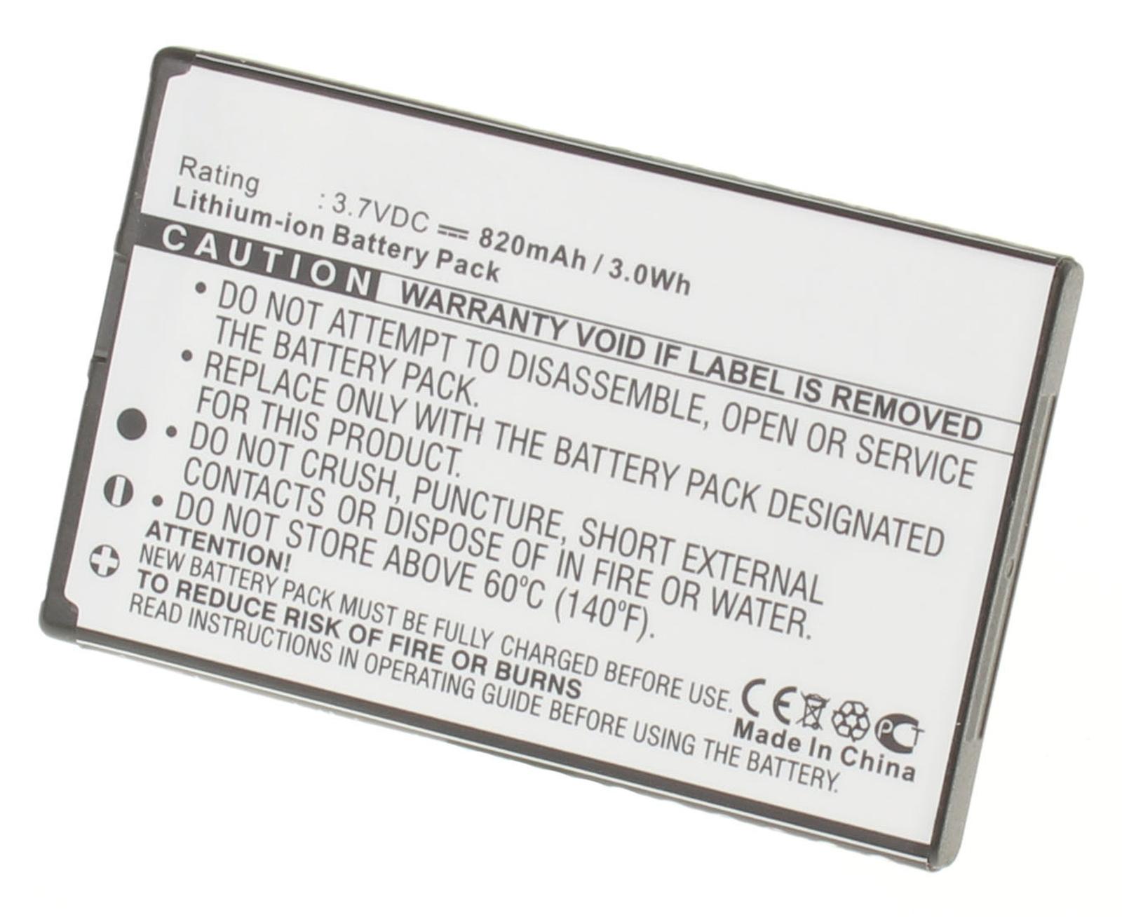 Аккумуляторная батарея для телефона, смартфона Nokia 6700 Slide. Артикул iB-M314.Емкость (mAh): 820. Напряжение (V): 3,7