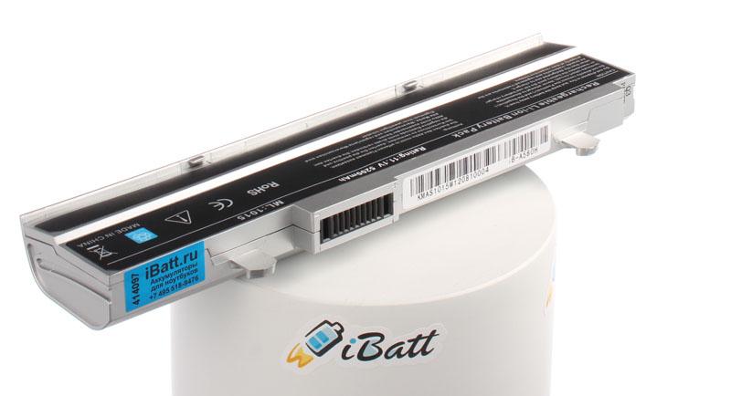 Аккумуляторная батарея для ноутбука Asus VX6S Eee PC Lamborghini. Артикул iB-A580H.Емкость (mAh): 5200. Напряжение (V): 11,1