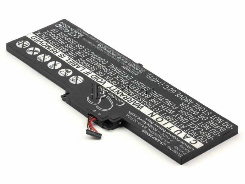Аккумуляторная батарея для ноутбука Samsung 350U2B. Артикул iB-A848.Емкость (mAh): 6340. Напряжение (V): 7,4