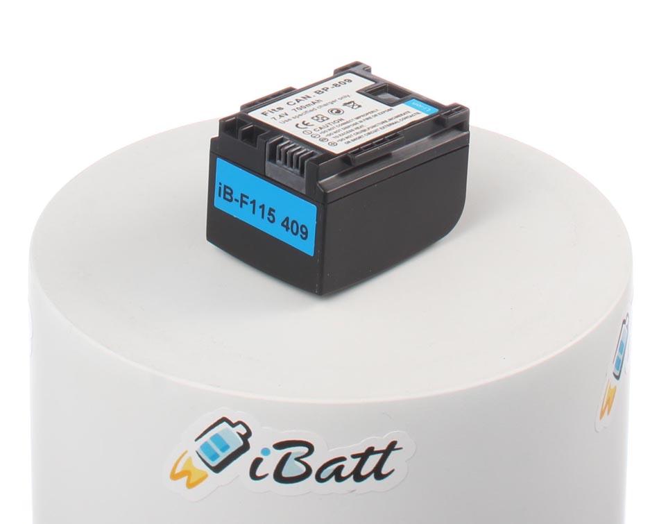 Аккумуляторная батарея iBatt для фотокамеры Canon LEGRIA HF G10. Артикул iB-F115