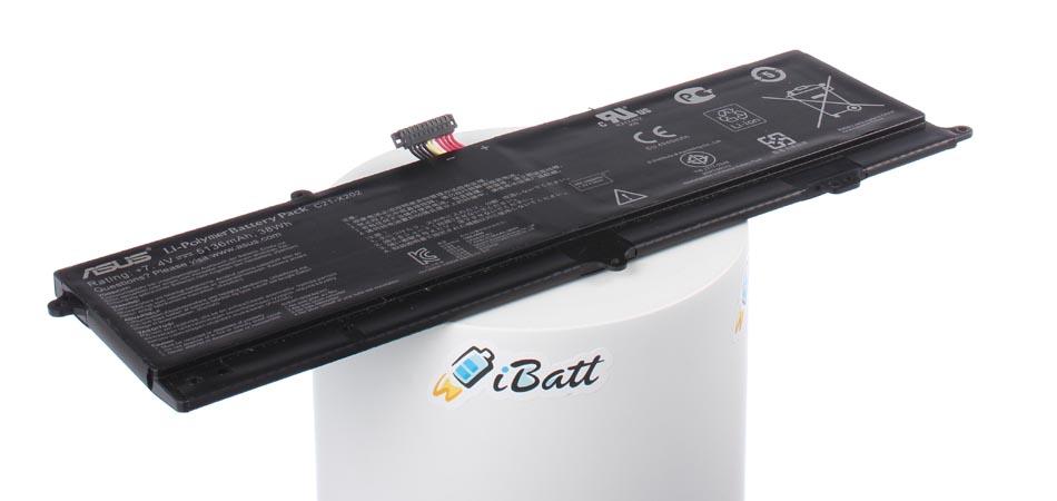 Аккумуляторная батарея C21-X202 для ноутбуков Asus. Артикул iB-A661.Емкость (mAh): 5100. Напряжение (V): 7,4