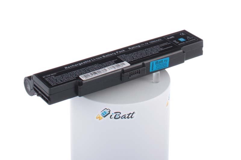 Аккумуляторная батарея iBatt iB-A415H для ноутбука SonyЕмкость (mAh): 7800. Напряжение (V): 11,1