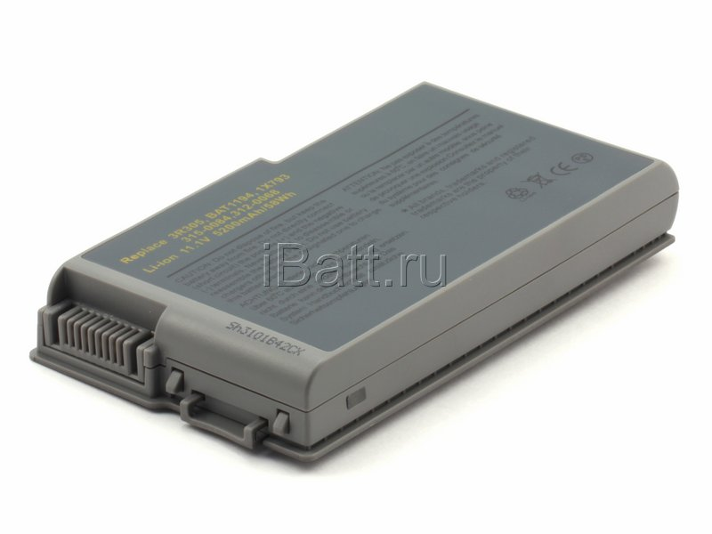 Аккумуляторная батарея 1X793 для ноутбуков Dell. Артикул 11-1203.Емкость (mAh): 4400. Напряжение (V): 11,1