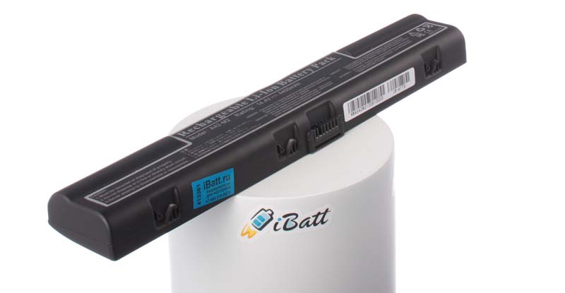 Аккумуляторная батарея iBatt iB-A179 для ноутбука iRuЕмкость (mAh): 4400. Напряжение (V): 14,8