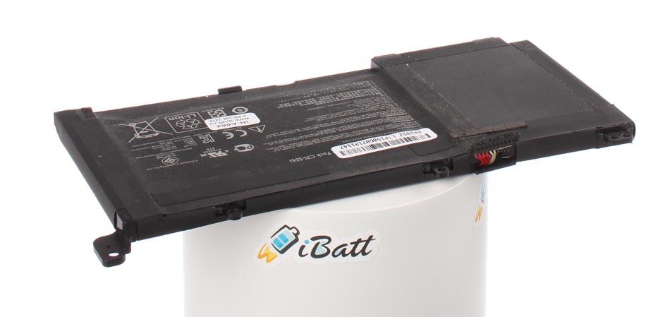 Аккумуляторная батарея C31-S551 для ноутбуков Asus. Артикул iB-A664.Емкость (mAh): 4400. Напряжение (V): 11,1