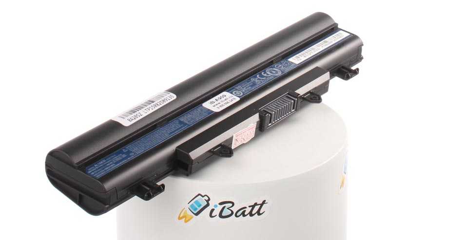Аккумуляторная батарея AL14A32 для ноутбуков Acer. Артикул iB-A909.Емкость (mAh): 4400. Напряжение (V): 11,1