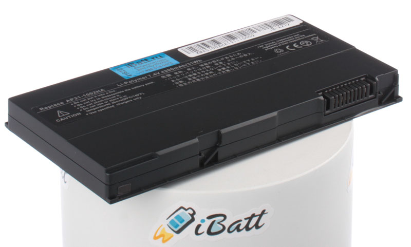 Аккумуляторная батарея для ноутбука Asus Eee PC 1002HA. Артикул iB-A272.Емкость (mAh): 4200. Напряжение (V): 7,4