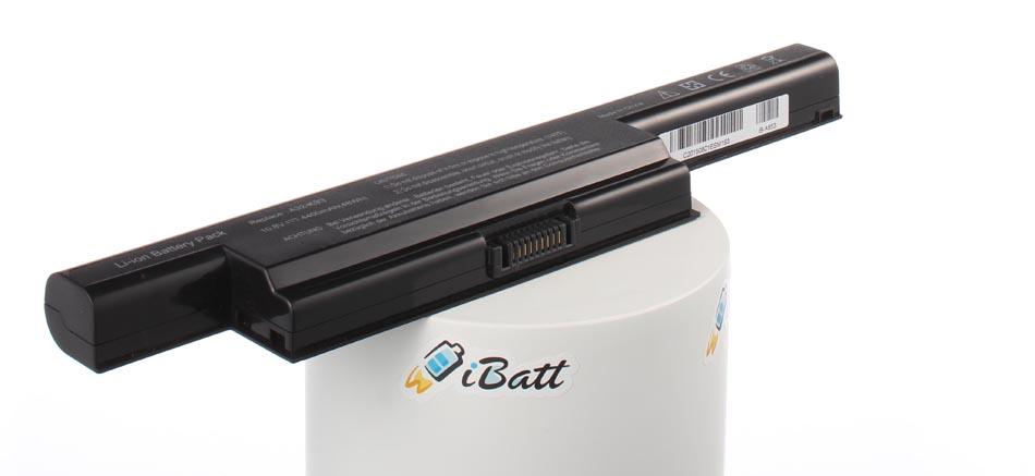Аккумуляторная батарея iBatt iB-A653 для ноутбука AsusЕмкость (mAh): 4400. Напряжение (V): 10,8
