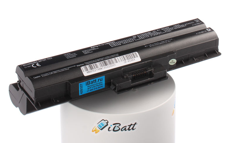 Аккумуляторная батарея CLD5123B.806 для ноутбуков Sony. Артикул iB-A598X.Емкость (mAh): 11600. Напряжение (V): 11,1