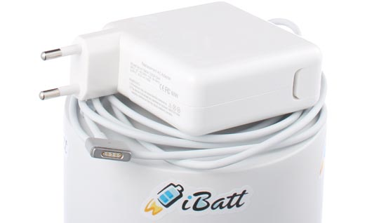 Блок питания (адаптер питания) MC565Z/B для ноутбука Apple. Артикул iB-R225. Напряжение (V): 16,5