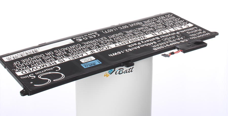 Аккумуляторная батарея iBatt iB-A632 для ноутбука SamsungЕмкость (mAh): 8400. Напряжение (V): 7,4