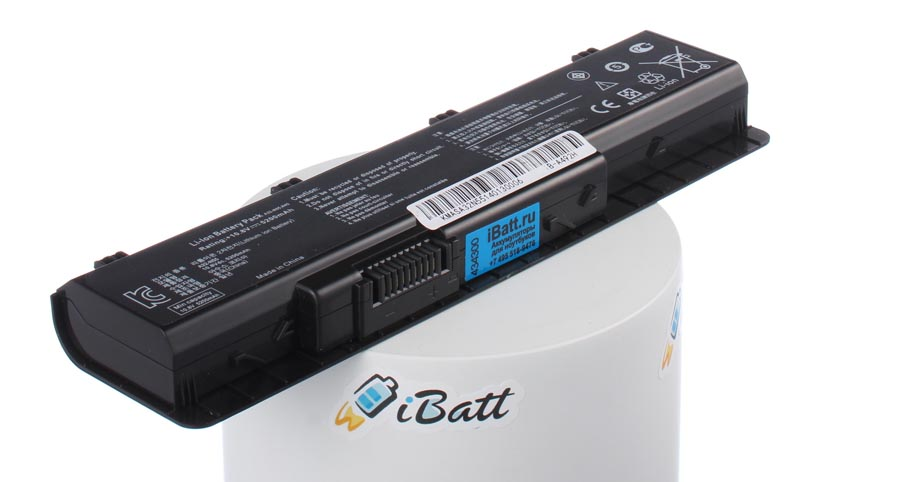 Аккумуляторная батарея для ноутбука Asus N75SL (i3). Артикул iB-A492H.Емкость (mAh): 5200. Напряжение (V): 10,8