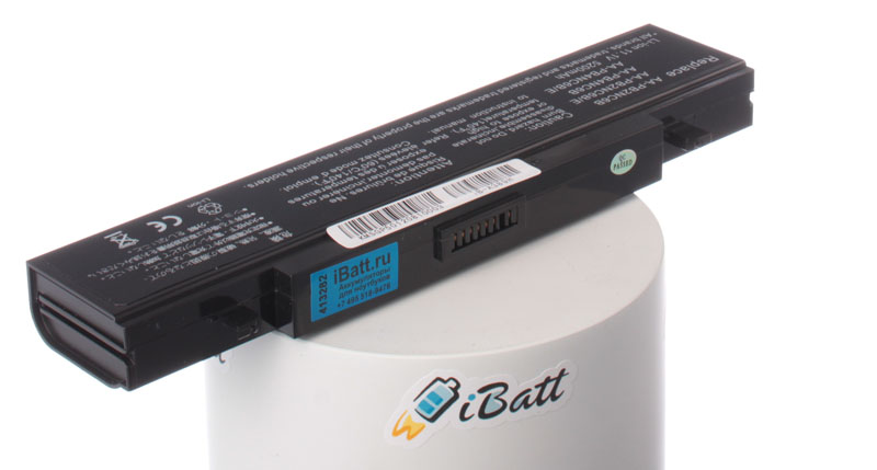 Аккумуляторная батарея для ноутбука Samsung R505. Артикул iB-A389H.Емкость (mAh): 5200. Напряжение (V): 11,1